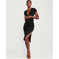 Abercrombie&Fitch 301309-1 裹身式中长款连衣裙
