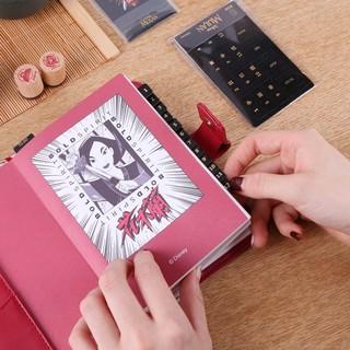 kinbor x 迪士尼联名款 花木兰 荣光手账礼盒8件套 DTB6580
