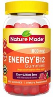 Nature Made Energy B12 Adult Gummie) Value Size 150 Ct