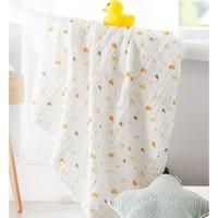 全棉时代 婴儿纱布浴巾 115*115cm *3件 +凑单品