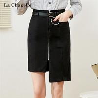 La Chapelle 拉夏貝爾 10016088 不規則A字半身裙