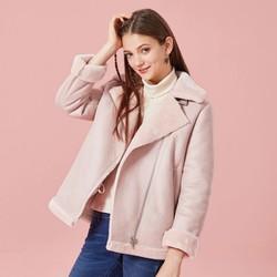 Semir 森马 女短款夹克外套
