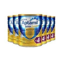 Aptamil 爱他美 金装 婴幼儿配方奶粉 4段 900g *6件
