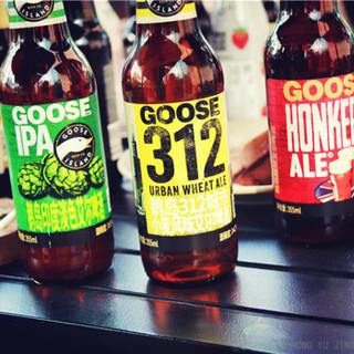 鹅岛 精酿啤酒Goose Island 美式精酿 IPA++312城市小麦混装355ML*6瓶