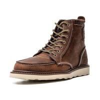 男鞋高帮休闲BRAVADO鞋潮流经典款工装靴马丁靴男靴P712947 浅棕 44