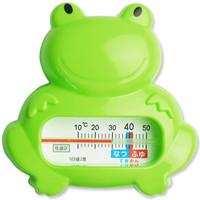 樱舒(Enssu)婴儿儿童青蛙水温计体温计ES1300 *2件