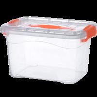 透明收纳箱塑料大小号收纳衣服玩具整理箱零食储物箱宿舍有盖盒子