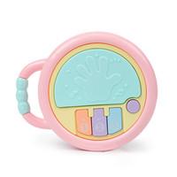 知识花园  宝宝便携式手提拍拍鼓 *2件