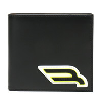 BALLY 巴利 男士黑色多色皮质短款钱包钱夹 BRASAI CM 00 6228991