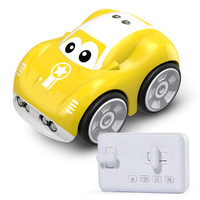 京东PLUS会员 : DEERC 儿童手控感应玩具车 黄色 *2件