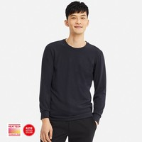 UNIQLO 优衣库 408120 HEATTECH ULTRA WARM 男士圆领T恤