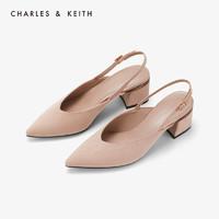 CHARLES&KEITH CK1-60920153 女士尖头高跟鞋