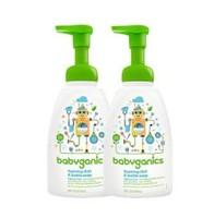 BabyGanics 甘尼克宝贝 婴儿餐具奶瓶发泡清洁剂 473毫升 *2件
