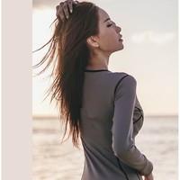 DK Y型连体裙 女士游泳衣