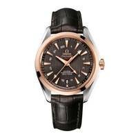 OMEGA 欧米茄 Seamaster 海马系列 Aqua Terra GMT 231.23.43.22.06.001 男士双区机械腕表