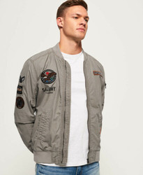 Superdry Rookie Duty Patch Bomber 男士夹克
