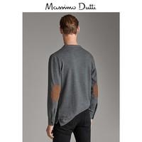 秋冬大促 Massimo Dutti男装 立领长袖棉质 POLO 衫 00751208812