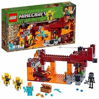 LEGO Minecraft The Blaze Bridge 21154 建筑套装,2019(370 件)