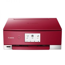 Canon 佳能 PIXMA腾彩 TS8280 照片打印一体机 红色