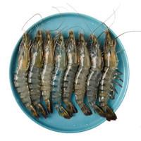 翔泰 越南活冻黑虎虾 350g*3份 +凑单品