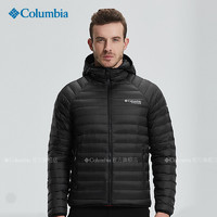 Columbia 哥伦比亚 WE0873 男士3D热能反射800蓬鹅绒保暖羽绒服
