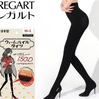 考拉海購黑卡會員:REGART 150D 加絨發熱壓力連褲襪 *3件
