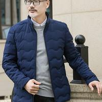红豆相思鸟 SY072 男士冬季修身短款时尚羽绒服 *2件
