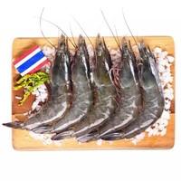 京东生鲜 泰国活冻白虾/女王虾(大号) 400g 16-20只 *4件+凑单品