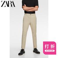 ZARA新款 男装 科技面料休闲工装裤05573627710