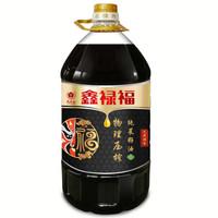 鑫禄福 物理压榨纯菜籽油 非转基因食用油 5L *4件