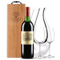 拉菲古堡干红葡萄酒 1982年大拉菲 法国原瓶进口红酒 拉菲正牌