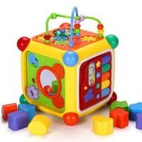 谷雨 儿童玩具智立方多功能六面盒