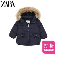 ZARA 新款 女婴幼童  保暖棉服夹克外套 05644554401
