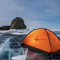 冰河露营,你想象不到的快乐天堂!