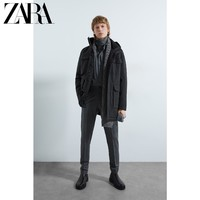 ZARA 新款 男装 Traveller 科技面料机能派克外套 08418450802