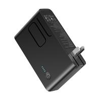充电器移动电源二合一苹果type-c小米快充华为通用多功能双口插头