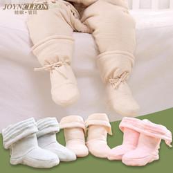 冬季加厚纯棉护脚套婴儿鞋