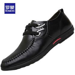 Romon 罗蒙 男士商务休闲鞋户外休闲皮鞋男 YH1815