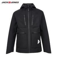 JACK JONES 杰克琼斯 男士防泼水轻薄工装运动休闲夹克