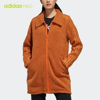 adidas neo 宝可梦联名 女装翻领夹克外套 FU3920FU3921