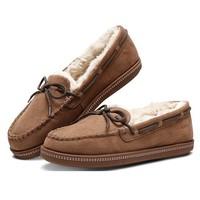 SKECHERS 斯凯奇 32782-CSNT 女士一脚蹬绒里豆豆鞋