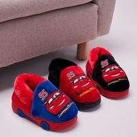 Disney 迪士尼 儿童卡通棉拖鞋
