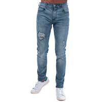 Crosshatch Kiniston Skinny Ripped 男士牛仔裤