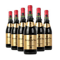 桃乐丝Torres公牛血金标干红葡萄酒 750ml*6 整箱装 西班牙进口红酒 *2件
