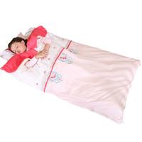 龙之涵婴儿睡袋纯棉宝宝睡袋中大童暖气房防踢被儿童四季通用睡袋60*100cm *2件