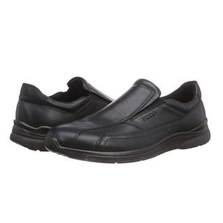 中亚Prime会员、限尺码 : Ecco 爱步 Irving 欧文系列 男士真皮一脚蹬休闲鞋