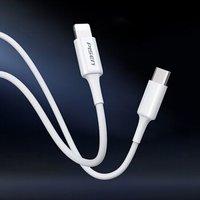 品胜 Type-C to Lightning苹果PD快充数据线 白色 1米 *5件