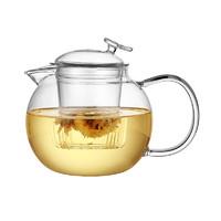 光一玻璃內膽茶壺小燒水壺茶具套裝耐高溫加厚家用辦公可加熱泡功夫茶 *3件