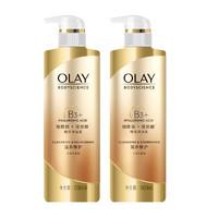 Olay玉蘭油 B3煙酰胺精華沐浴乳 500毫升/件 2件裝 *2件