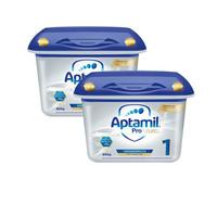 Aptamil 爱他美 Milupa 白金版婴儿配方奶粉 1段 800g *2盒